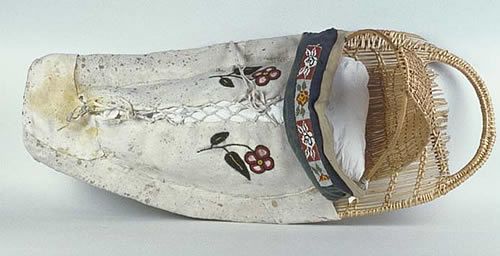 Northern Paiute cradleboard